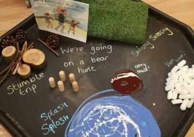 Little Angels Nurseries | Children's Nursery in Cheshire | We're Going on a Bear Hunt